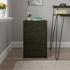 Ameriwood Home Core 2 Drawer Wooden File Cabinet Lockable Espresso Finish
