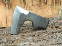 hand forged axe head