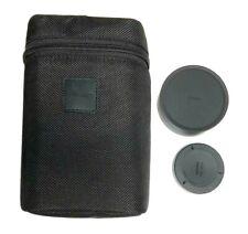 Sigma AF 8-16mm f4.5-5.6 Protective Case Lense Covers Black For Nikon