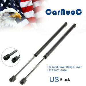 for Land Rover Range Rover Sport L320 2005-2012 Trunk Shocks Struts Lift Support Bars Telescopic Arm Rod JABL 2Pcs Car Boot Gas Springs Rear Tailgate Hood Auto Damper Accessories