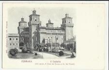 FERRARA VECCHIA CARTOLINA DEL CASTELLO