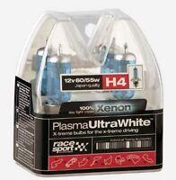 Pack Lampara H4 12v 60/55w RACE SPORT PLASMA ULTRA WHITE