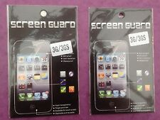 2 x iPhone 3 3 G 3GS Clair LCD Screen Protector Guard Film Cover BRAND NEW