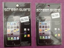 2 x IPHONE 3 3G 3GS   CLEAR LCD SCREEN PROTECTOR GUARD FILM COVER   BRAND NEW
