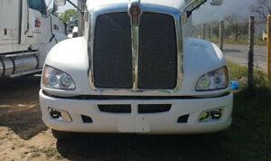 Peterbilt 579 587 & Kenworth T660 Led Black Fog Light - Driver # 15322