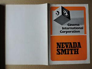 Steve McQueen original German pressbook/mini poster 1966 Nevada Smith