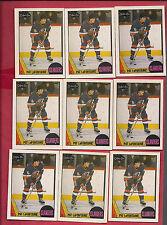 9 X 1987-88 OPC # 173 ISLANDERS PAT LAFONTAINE   CARD