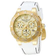 TechnoMarine Cruise Medusa Chronograph Gold Dial Mens Watch 115078