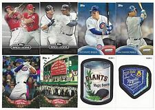 2016 Topps Ser 1 HUGE Master Set The Six Insert Sets + Two More - Spring Fever!