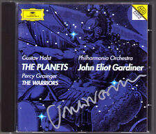 John Eliot GARDINER Signiert HOLST The Planets GRAINGER The Warriors CD Planeten