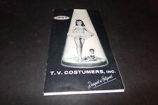 Vintage T.V. Costumers Ballet Costumes Dance Wear Ballerina Dutch Girl  1957