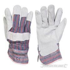 SILVERLINE CB01 RIGGER GLOVES LARGE PACK OF 5 PAIRS ONE SIZE