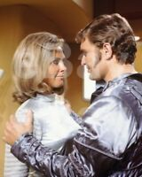 UFO (TV) Wanda Ventham, Derren Nesbitt 10x8 Photo