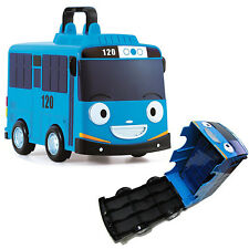 "Little Bus TAYO Mini Car Carrier 12 Storage Toy for 2"" Mini Tayo Special Friends"