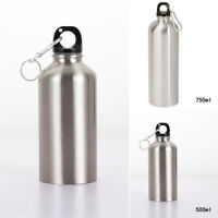 Stainless Steel Water Bottle Double Wall Vacuum Insulated Sports Flask 500/750ML