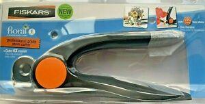 """Fiskars Professional Grade Floral Stem Cutter - Cuts up to 1/2"""" Faux Stem NIP"""