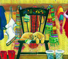 Patiently Waiting 300 piece Jigsaw Puzzle SunsOut Jigsaw Art by Amy Rosenberg