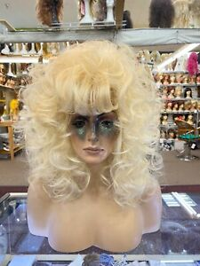 DOLLY LOOK PALE BLONDE drag queen look  WOW LOOK NATURAL WIGS R US auc