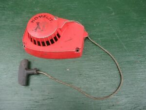 Vintage HOMELITE XL AUTOMATIC Chainsaw COVER  Chain Saw FOR PARTS
