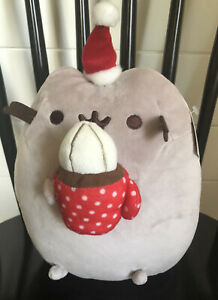 GUND Pusheen Snackable Hot Cocoa Christmas Holiday Stuffed Animal Cat Plush, NEW