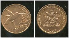 TRINIDAD ET TOBAGO    1  cent  1999   ANM
