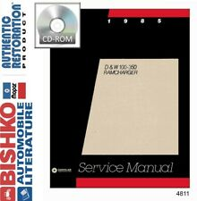 1985 Dodge Truck Ramcharger Shop Service Repair Manual Cd
