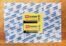 10 Feather Double Edge Razor Blades - USA Seller - SHIPS FAST!!
