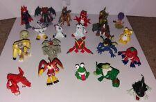 "Digimon - still and moveable figures 1.5""-3"" RARE Season 1"