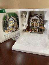 Department 56 New England Village Platt's Candles & Wax Lighted Original Box