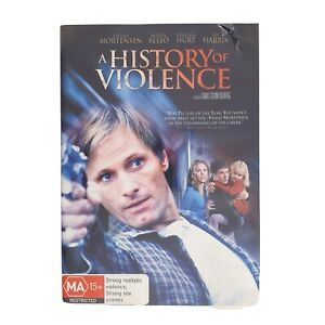 A History of Violence Movie DVD Region 4 AUS Free Postage - Thriller