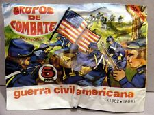 MONTAPLEX Sobre Guerra Civil Americana INFANTERIA DEL NORTE soldados 70's airfix