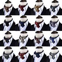 Herren Krawatte Seidentuch Herrenschal Seide Seidenschal Krawattenschal Tuch