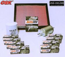 COMMODORE UTE VU VY VZ LS1 5.7L V8 OIL AIR FUEL FILTER SERVICE KIT+SPARK PLUGS