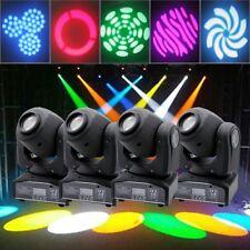 4PCS 30W Stage Lighting Spot GOBO RGBW LED Moving Head DMX Disco DJ Party Lights