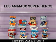 SERIE COMPLETE DE FEVES LES ANIMAUX SUPERS HEROS 2022