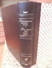 CONFEDERATE COOKBOOK SLAVERY antique CIVIL WAR recipes CURES+  BLACK AMERICANA +