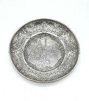 Antique Derby S.P. Co Silver Plated Windmill Dish - Marked 737 - Dated 1900's