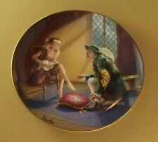Cinderella If The Shoe Fits Plate Franklin Mint Steve Read Sparkling Gem Jewel