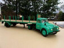n° 76 CITROEN U 55 Camion Semi Remorque Plateau à Ridelles 1/43 Neuf en Boite