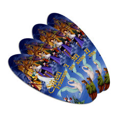 The Swan Princess Movie Poster Art Oval Nail File Emery Board 4 Pack