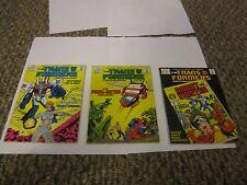 Marvel Comics Presents Transformers Comic Magazine Book Lot 5 6 8