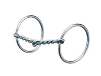 """Stainless Steel Horse Bit,Full Cheek French Mouth Snaffle C3259,4-1//2/"""",X 6-1//2/"""""""