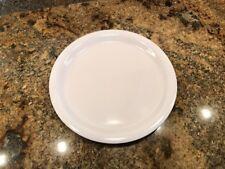 White White Melamine Dinnerware Plates   eBay