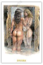 Affiche Serpieri Druuna Anima Miroir 40x60 cm