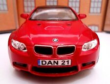 Dark RED BMW M3 PERSONALISED PLATES Toy Car MODEL boy girl dad BIRTHDAY GIFT NEW