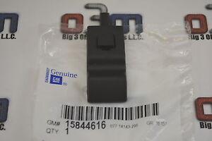 Chevrolet GMC Cadillac Front or Rear Door Locking Knob Ebony new OEM 15844616
