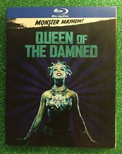 Queen of the Damned (Blu-ray, 2017; Monster Mayhem Edition) NEW w/ Slipcover
