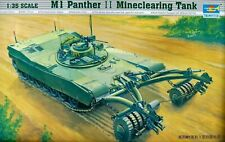 Trumpeter 1:35 M1 Abrams Panther II Mine-Clearing Tank Model Kit