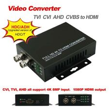 HD Video Converter 8MP TVI AHD CVI CVBS to HDMI output HD coaxial Output HDC/ADH