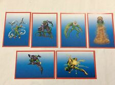 6 FIGURINE ADESIVE SPIDER-SENSE NEMICI SPIDER-MAN  PANINI MARVEL lot 53